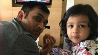 Ms dhoni share video on instagram where ziva dhoni play guitar 3900301