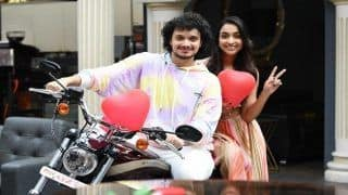 Mithun's Youngest Son Namashi Shoots Valentine's Day Pictures With Debut Film Co-star