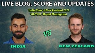 India vs New Zealand, Live Cricket Score, 5th T20I: Red-Hot India Eye 5-0 Whitewash of New Zealand