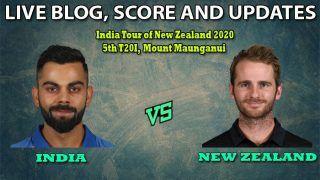 India vs New Zealand, Live Cricket Score, 5th T20I: Red-Hot India Eye 5-0 Whitewash of New Zealand