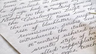 Cursive Writing Can do Much More Than Just Making Your Answer Sheet Attractive