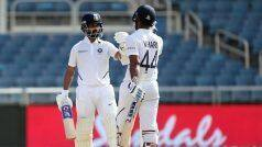 IND vs NZ, 2nd Test, Tea Report: पुजारा-विहारी ने अर्धशतक जड़ भारत की लड़खड़ाती पारी को संभाला
