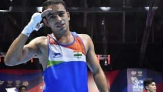 Amit Panghal Sets High Standards For Tokyo Olympics 2020, Says 'Indian Boxers Aim to Win At Least Two Gold Medals'