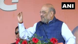 Home Minister Amit Shah Welcomes Babulal Marandi as JVM(P) Merges With BJP