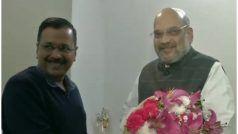 अमित शाह से मिले अरविंद केजरीवाल,मीटिंग के बाद दिल्ली के सीएमने कहा- साथ मिलकर करेंगे राजधानी का विकास