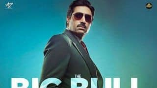 Big Bull New Poster Out: Abhishek Bachchan Will Remind You of 'Wolf of Wall Street', Film to Release in October