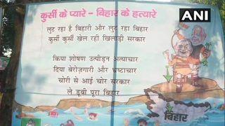 Kursi ke Pyare, Bihar ke Hatyare: RJD Escalates Poster War Against JD(U)-BJP Alliance