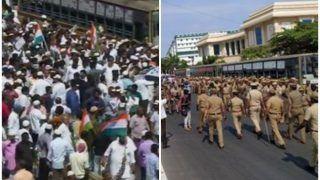 CAA-NRC Protest: तमिलनाडु में सचिवालय की ओर बढ़ रहे लोग, बड़ी संख्या में पुलिस मौजूद