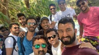 India vs New Zealand Test: Virat Kohli-Led Team India Enjoys Day Off at Blue Springs Waterfront | WATCH VIDEO