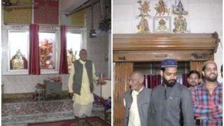 हिंसा के बीच मिसाल: मंदिर के लिएदंगाइयोंके सामने दीवार बन खड़े हुए मुस्लिम,हिंदू परिवारों ने मुस्लिमों को बचाया