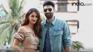 Disha Patni, Aditya Roy Kapoor Look Peppy as They Promote Malang