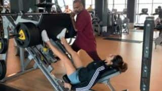 Disha Patani's Core Workout Video as She Sweats it Out in Gym Will Leave You Impressed