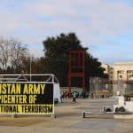 Posters Saying 'Pakistan Army Epicentre of International Terrorism' Put Up Outside UN Office in Geneva