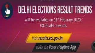 How to get Delhi Assembly Elections 2020 Vote Counting on Election Commission of India Website
