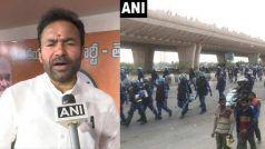 दिल्ली में हिंसा के लिए जिम्मेदार लोगों के खिलाफ कड़ी कार्रवाई करेंगे: गृह राज्य मंत्री रेड्डी