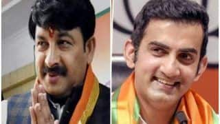BJP के 3 सांसदों के क्षेत्र में पार्टी का नहीं खुला खाता, गंभीर व मनोज तिवारी के क्षेत्र ने बचाई इज्जत