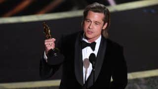 Oscars 2020: Brad Pitt Dives into Political Waters, Jokes About Trump Impeachment | Watch
