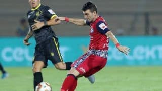 Sumeet Passi's Injury-Time Goal Helps Jamshedpur FC Pull Off 1-1 Draw Against Hyderabad FC