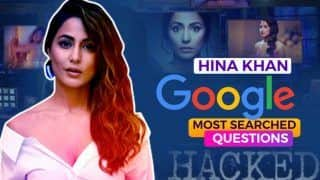 My Lover Boys! Hina Khan Answers Google's Most Searched Questions