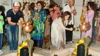 Maha Shivratri: Hrithik Roshan Along With ex-wife Sussanne Khan Performs Shiv Puja at Temple