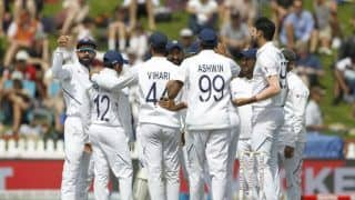 New zealand vs india 1st test nz 348 lead by 183 runs 3951278