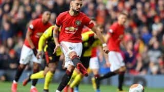 Premier League: Bruno Fernandes Announces Himself as Manchester United Blank Watford 3-0