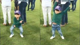 Sarfaraz Ahmed's Kid Imitates Hasan Ali's Celebration, Video Goes Viral | WATCH VIDEO