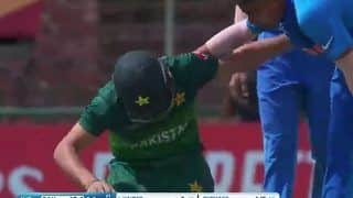 India vs Pakistan ICC U19 World Cup Semi-Final:Ind Pacer Wins Hearts With Kind Gesture After Hitting PAK Batsman With a Bouncer | POSTS
