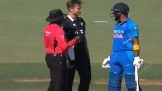 WATCH: Rahul-Neesham Engage in Playful Banter During Third ODI