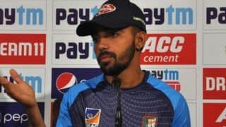Can Learn From Our U19 World Cup Team: Mominul Haque After Loss Against Pakistan