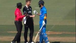 Ind vs NZ: KL Rahul Gives Smart Response to Jimmy Neesham's 'Paper, Scissors, Rock?' Comment