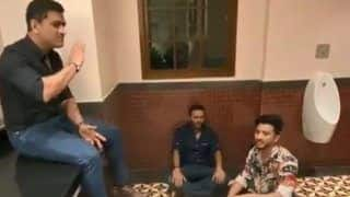 MS Dhoni, Parthiv Patel Sing Famous Bollywood Number Inside Toilet, Video Goes Viral | WATCH