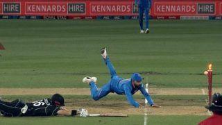1st ODI: Virat Kohli Effects Brilliant Run Out, Sends Henry Nicholls Packing at Seddon Park, Hamilton   WATCH VIDEO