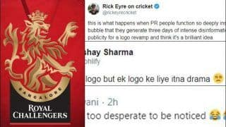Royal Challengers Bangalore Get New Logo Ahead of IPL 13, Fans Not Too Happy With The 'Drama'   SEE POSTS