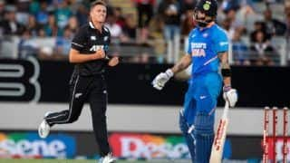 India vs New Zealand 2nd ODI: Ross Taylor, Bowlers Help New Zealand Beat India By 22 Runs, Blackcaps Take 2-0 Lead in Series