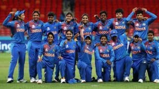 Icc women t20 world cup 2020 india women vs new zealand women black caps opt to bowl first smriti mandhana radha yadav included in playing xi 3955005
