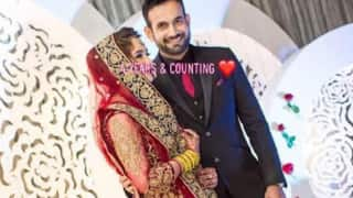 Irfan Pathan Pens Cute Message For Wife Safa Baig On Wedding Anniversary