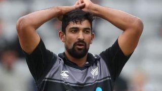 Vindia vs new zealand injury hit new zealand add spinner ish sodhi pacer blair tickner 3937887