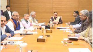 दिल्ली चुनाव परिणाम को लेकर BJP दफ्तर में हुई बैठक, नड्डा बोले- रिजल्ट से हताश होने की जरूरत नहीं