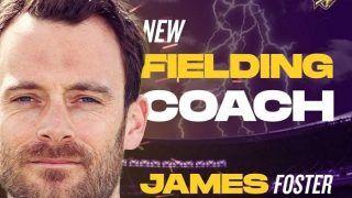 IPL 2020: Kolkata Knight Riders Rope In James Foster As Fielding Coach