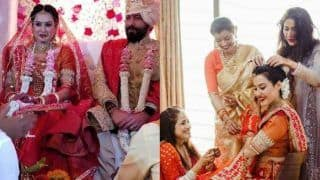 Kamya Punjabi, Shalabh Dang Tie The Knot in Traditional Wedding, Couple Looks Resplendent on Their D-Day