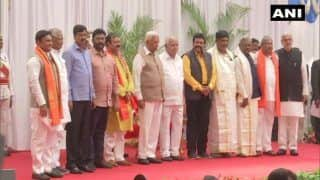 Karnataka CM Yediyurappa Expands Cabinet, 10 BJP MLAs Take Oath