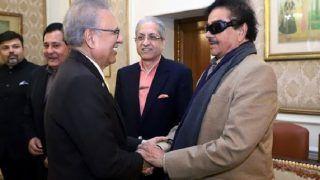 Shatrughan Sinha Meets Pakistan President Arif Alvi in Lahore, Discusses Kashmir