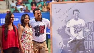 'Hard Work Helps us Succeed': Leander Paes During Farewell at KSLTA Stadium