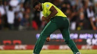 South afrcia vs england 1st t20i lungi ngidi magic in last over help south afrcia to 1 run victory 3942182