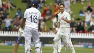 New zealand vs india 1st test mayank agarwal scores fifty ind 78 2 at tea 3951320