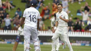वेलिंगटन टेस्ट: मयंक अग्रवाल के अर्धशतक से टी तक भारत का स्कोर 78/2