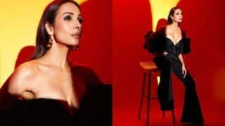 Malaika Arora Goes Bold in All Black Ensemble, Her Sultry Pictures Will Make You Weak in The Knees