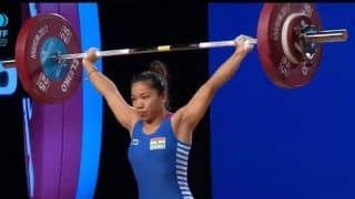 Weightlifting: Mirabai Chanu Breaks Her Own National Record, Lifts 203 Kg To Win Gold in Nationals