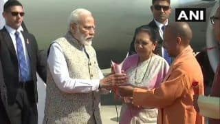 PM Modi Arrives in Varanasi to Inaugurate Projects Worth Over Rs 1,000 Crore
